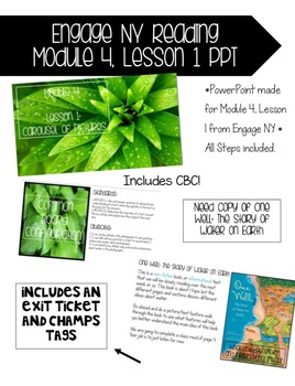 Engage Ny, Reading Module 4, Lesson 1 PowerPoint