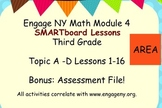 Engage Ny SMART board Third Grade Math Module 4 Lessons 1-16