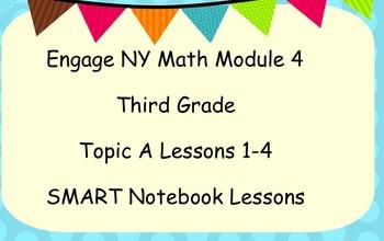 Engage Ny SMART board Third Grade Math Module 4 Topic A