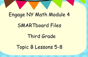 Engage Ny SMART board Third Grade Math Module 4 Topic B