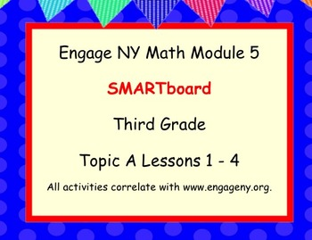 Engage Ny SMART board Third Grade Math Module 5 Topic A
