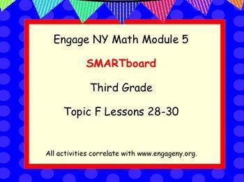 Engage Ny SMART board Third Grade Math Module 5 Topic F