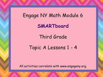 Engage Ny SMART board Third Grade Math Module 6 Topic A
