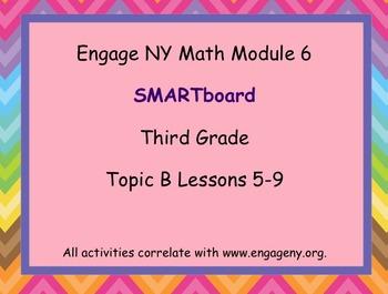 Engage Ny SMART board Third Grade Math Module 6 Topic B
