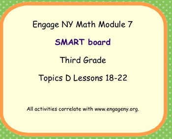 Engage Ny SMART board Third Grade Math Module 7 Topic D