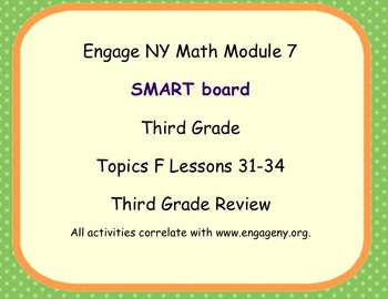 Engage Ny SMART board Third Grade Math Module 7 Topic F