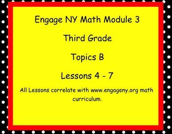 Engage Ny SMART board Third Grade Math Module 3 Topic B