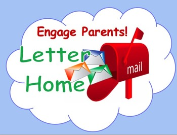 Engage Parents! Letter Home
