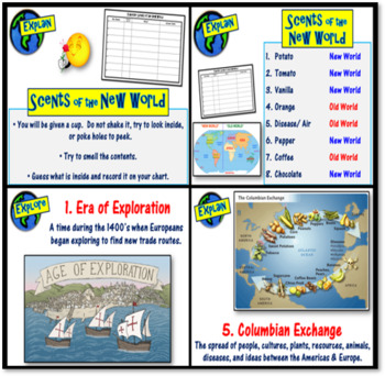 """Engage- """"Scents of the New World"""": The Columbian Exchange"""