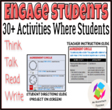 Engage Your Students: 30+ Activities Where Students Think,