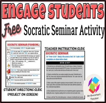 Engage Students: Socratic Seminar Activity