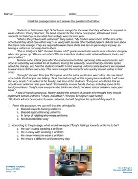 Engage Your Student! Augmented Reality 6th Grade English -