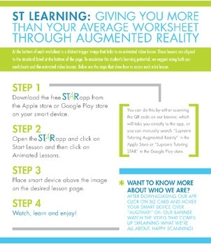 Engage Your Student! Augmented Reality 7th Grade Math - Probability
