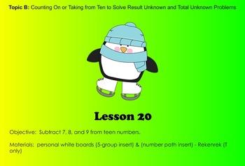 EngageNY 1st Grade Math Module 2 Lesson 20