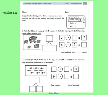 EngageNY 1st Grade Module 1 Lessons 21-25 SmartBoard Files