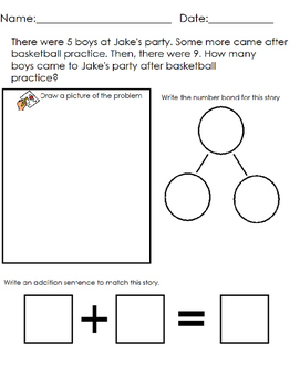EngageNY-Eureka Math 1st Grade Module 1 Modified Mid-Module Assessment