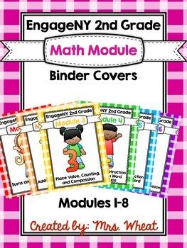 EngageNY 2nd Grade Binders