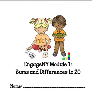 EngageNY 2nd Grade Math Notebook Module 1 Revised