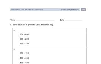 EngageNY 2nd Grade Math Module 5 Lesson 3