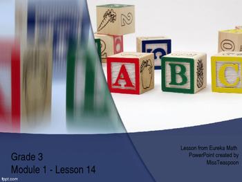 Eureka Math - 3rd Grade Module 1, Lesson 14 PowerPoint