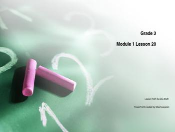 Eureka Math - 3rd Grade Module 1, Lesson 20 PowerPoint