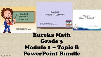 Eureka Math - 3rd Grade Module 1, Topic B PowerPoints