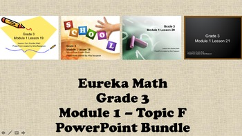 Eureka Math - 3rd Grade Module 1, Topic F PowerPoints