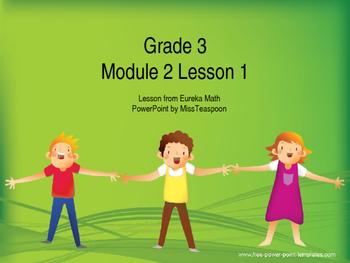 Eureka Math - 3rd Grade Module 2, Lesson 1 PowerPoint