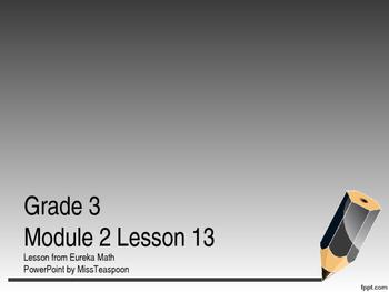Eureka Math - 3rd Grade Module 2, Lesson 13 PowerPoint