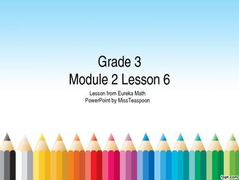Eureka Math - 3rd Grade Module 2, Lesson 6 PowerPoint