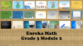 Eureka Math - 3rd Grade Module 2, Lessons 1-21 PowerPoints (ENTIRE MODULE)