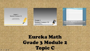 Eureka Math - 3rd Grade Module 2, Topic C PowerPoints