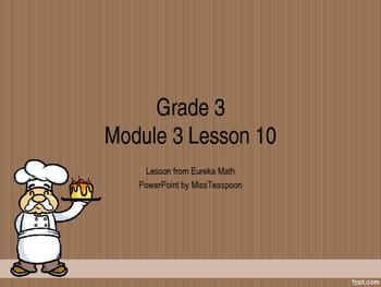 Eureka Math - 3rd Grade Module 3, Lesson 10 PowerPoint