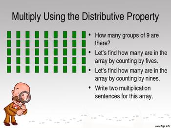 Eureka Math - 3rd Grade Module 3, Lesson 3 PowerPoint