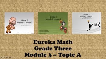 Eureka Math - 3rd Grade Module 3, Topic A PowerPoints