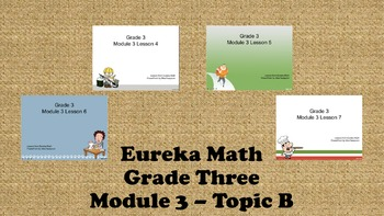 Eureka Math - 3rd Grade Module 3, Topic B PowerPoints