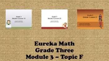 Eureka Math - 3rd Grade Module 3, Topic F PowerPoints