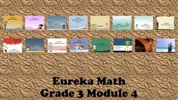 Eureka Math - 3rd Grade Module 4, Lessons 1-16 PowerPoints (ENTIRE MODULE)
