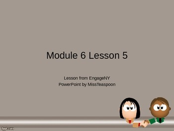 EngageNY - 3rd Grade Module 6, Topic B PowerPoints