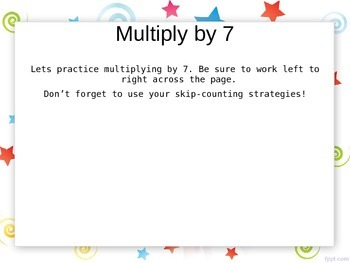 EngageNY - 3rd Grade Module 7, Lesson 26 PowerPoint