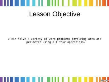 EngageNY - 3rd Grade Module 7, Lesson 28 PowerPoint