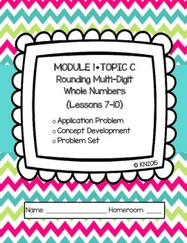 EngageNY 4th Grade Math Module 1 Topic C Journal