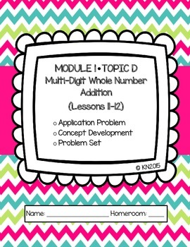 EngageNY 4th Grade Math Module 1 Topic D Journal