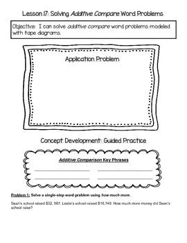EngageNY 4th Grade Math Module 1 Topic F Journal