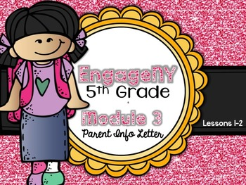 5th Grade EngageNY/Eureka Math - Module 3 - Lessons 1-2 Parent Info Sheet