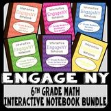 EngageNY 6th Grade Math Interactive Notebook Bundle