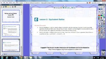 EngageNY 6th grade Module 1 Lesson 3 ActivInspire Flipchar