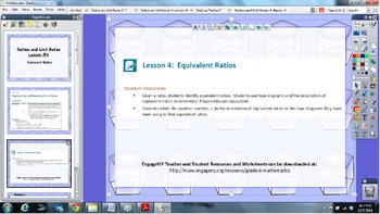 EngageNY 6th grade Module 1 Lesson 4 ActivInspire Flipchart for Promethean