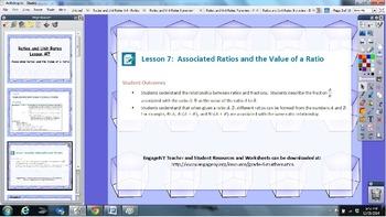 EngageNY 6th grade Module 1 Lesson 7 ActivInspire Flipchart for Promethean