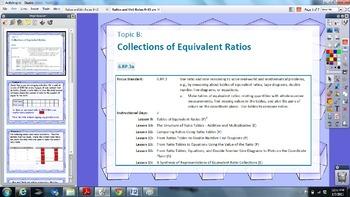 EngageNY 6th grade Module 1 Lesson 9-15 ActivInspire Flipchart for Promethean